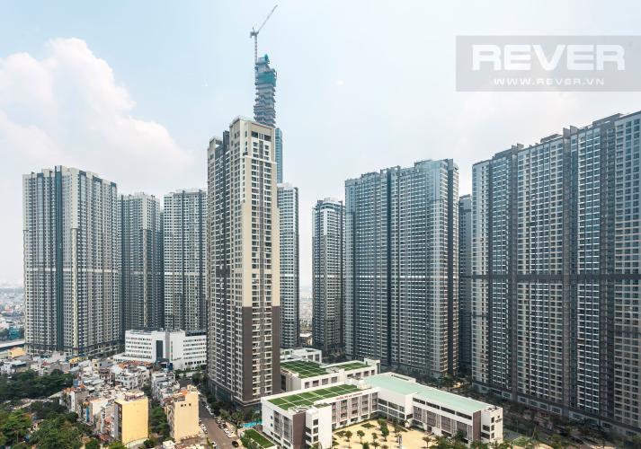 View Căn hộ Saigon Pearl 3 phòng ngủ tầng cao Sapphire đầy đủ nội thất