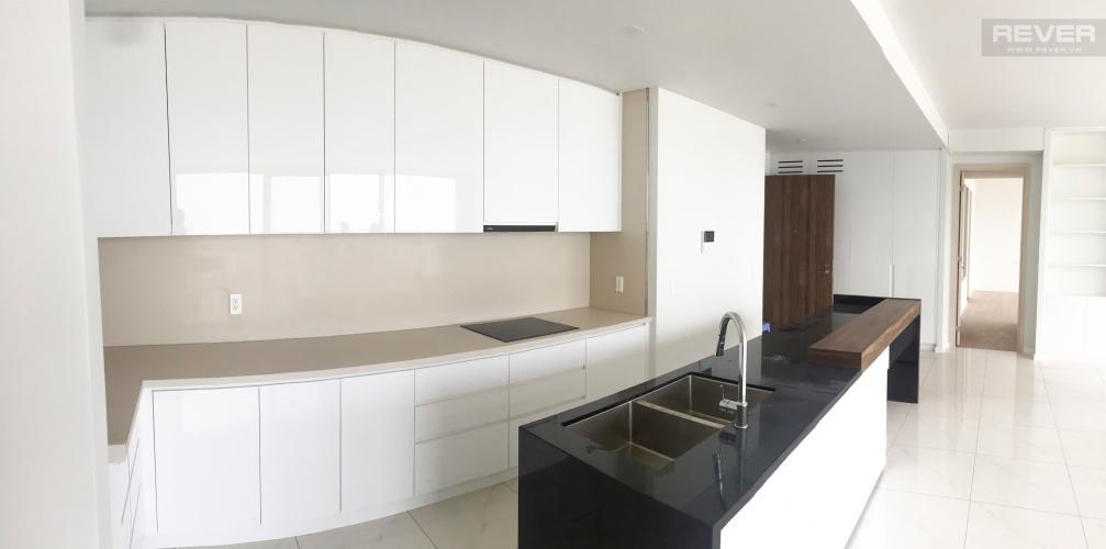 Phòng Bếp Bán căn hộ Waterina Suites 3PN, tầng trung, diện tích 162m2, view hồ bơi