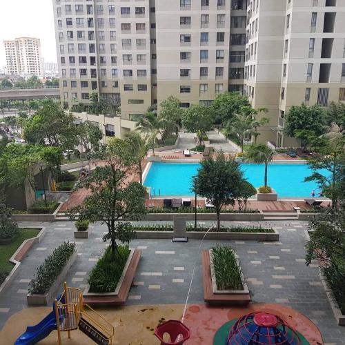 Masteri Thảo Điền Quận 2 Căn hộ Masteri Thảo Điền view sông và biệt thự, tầng trung đón gió.