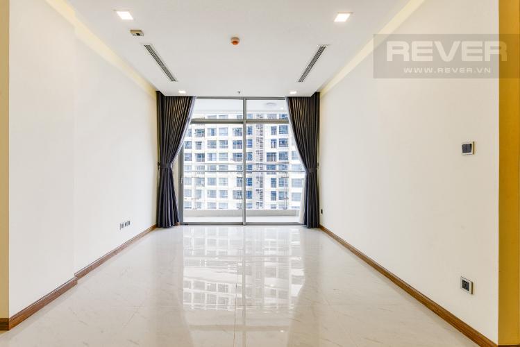 Phòng Khách Căn hộ Vinhomes Central Park 2 phòng ngủ, tầng trung P5, nội thất cơ bản