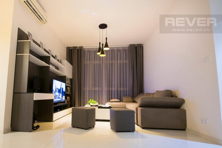Phòng Khách Căn hộ The Vista An Phú 2 phòng ngủ tầng thấp T5 nội thất đầy đủ