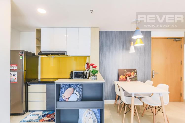 Không gian phòng bếp Cho thuê căn hộ Masteri Thảo Điền 2PN, tầng cao, tháp T2A, đầy đủ nội thất, hướng Tây Bắc