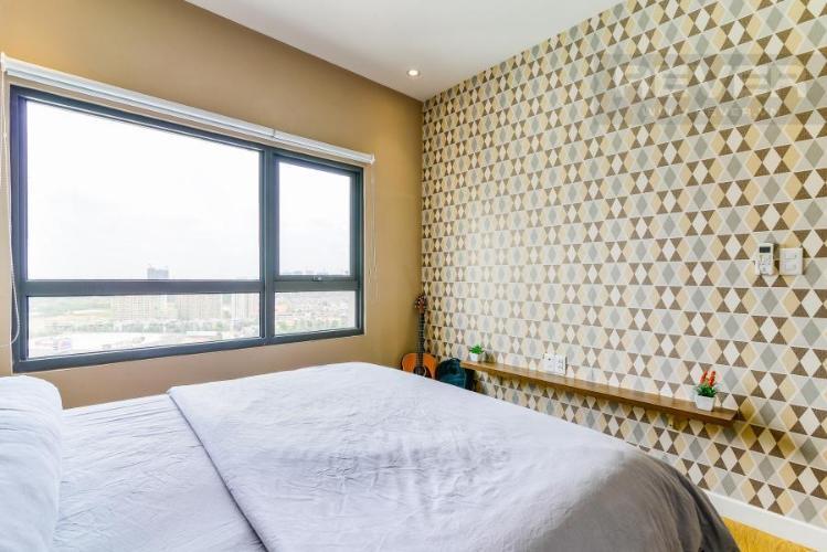 Phòng ngủ 1 Căn hộ Masteri Thảo Điền 2 phòng ngủ tầng cao T1 đầy đủ nội thất