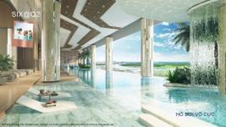 Hồ bơi chung cư Q2 THAO DIEN Căn hộ Q2 Thảo Điền tầng cao nội thất cơ bản, dọn vào ở ngay.