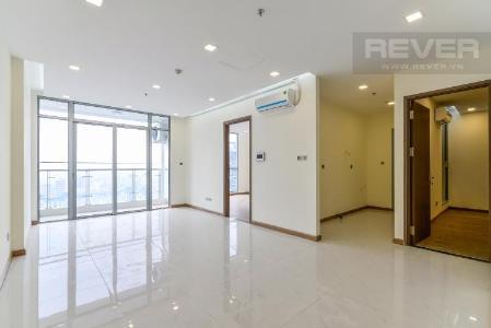 Bán căn hộ Vinhomes Central Park 2PN, tầng cao, Park 7, nội thất cơ bản