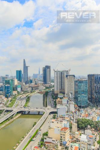 View Bán căn hộ Masteri Millennium tầng cao, 2PN, view đẹp
