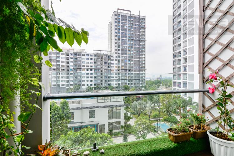 View Balcony Cho thuê căn hộ New City 60m2 3PN 2WC, view nội khu, nội thất tiện nghi