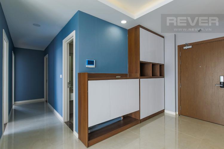 Kệ Giày Bán căn hộ Masteri Millennium tầng cao, block B, 3PN đầy đủ nội thất