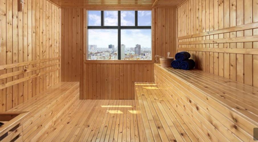 PHÒNG TẮM HƠI Căn hộ D1 Mension view thành phố, nội thất đầy đủ.