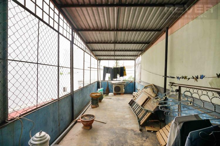 sân thượng nhà phố Bình Thạnh Bán nhà 3 tầng hẻm Hồ Xuân Hương, Bình Thạnh, sổ hồng, cách chợ Bà Chiểu 800m