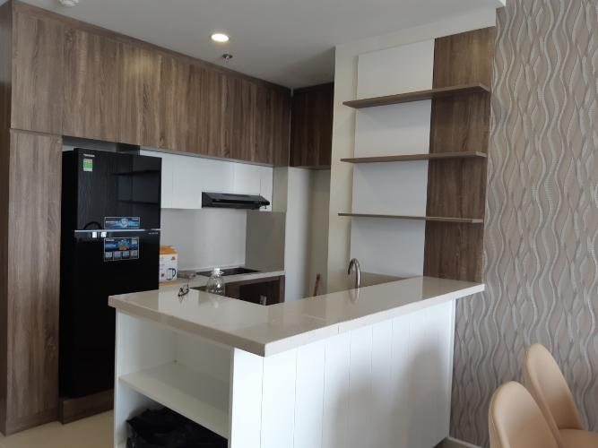 Bếp căn hộ RiverGate Residence Cho thuê căn hộ RiverGate Residence 2 phòng ngủ, diện tích 74m2, đầy đủ nội thất, view thành phố