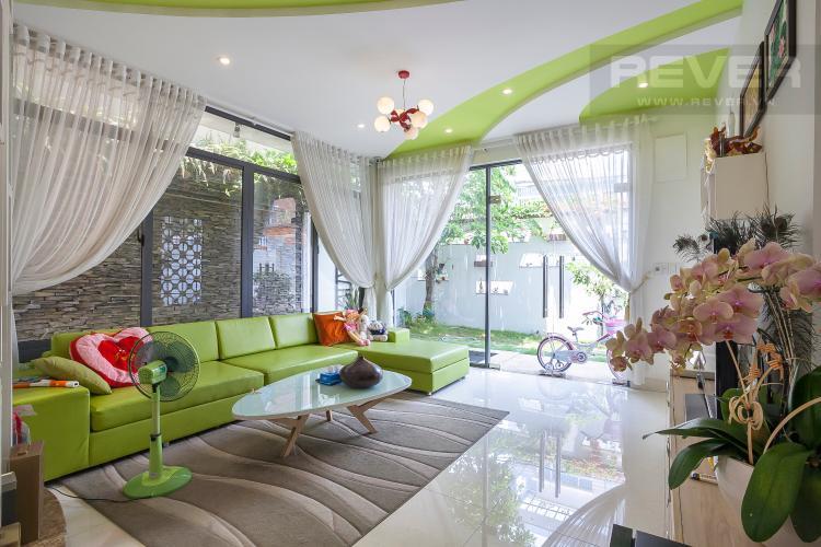 Phòng Khách 1 Biệt thự 6 phòng ngủ Đường Số 6B Quận Bình Tân