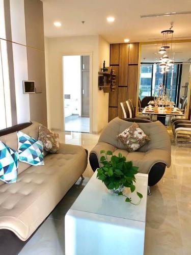 Bán căn hộ Vinhomes Golden River 3PN, diện tích 98m2, đầy đủ nội thất, hướng ban công Tây Nam