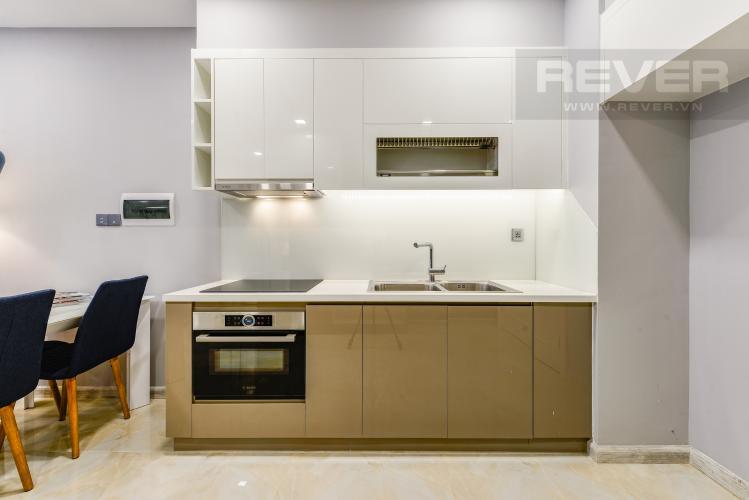 Bếp Bán và cho thuê căn hộ Vinhomes Golden River tầng trung, 1PN đầy đủ nội thất, view sông