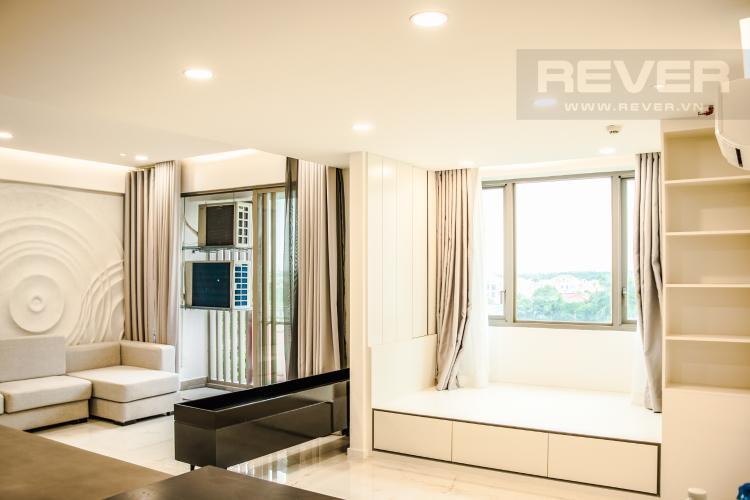 Phòng Ngủ 3 Bán căn hộ Happy Residence 3PN, tầng thấp, block A, đầy đủ nội thất, view mặt phố