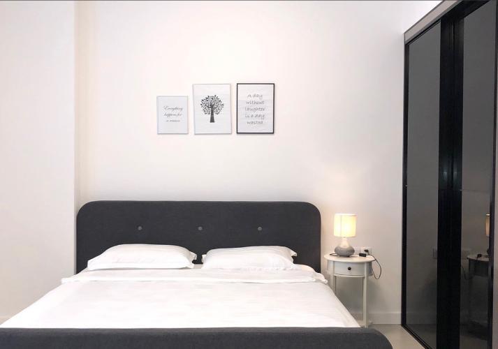 phòng ngủ căn hộ Gateway Thảo Điền Căn hộ Gateway Thảo Điền đầy đủ nội thất tinh tế, view thành phố.