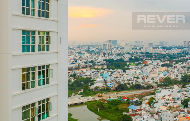 View Căn hộ Hoàng Anh Thanh Bình 3 phòng ngủ tầng cao tháp B đầy đủ tiện nghi