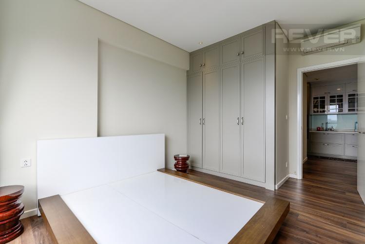Phòng Ngủ Cho thuê căn hộ Diamond Island - Đảo Kim Cương 1PN, tầng trung, tháp Hawaii, đầy đủ nội thất, view hồ bơi