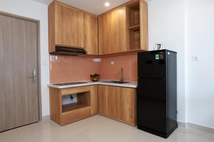 Phòng bếp Vinhomes Grand Park Quận 9 Căn hộ Vinhomes Grand Park tầng trung mát mẻ, đầy đủ nội thất.