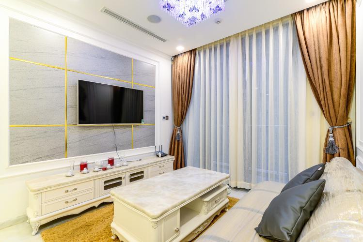 Cho thuê căn hộ Vinhomes Golden River tầng cao, 1PN, đầy đủ nội thất