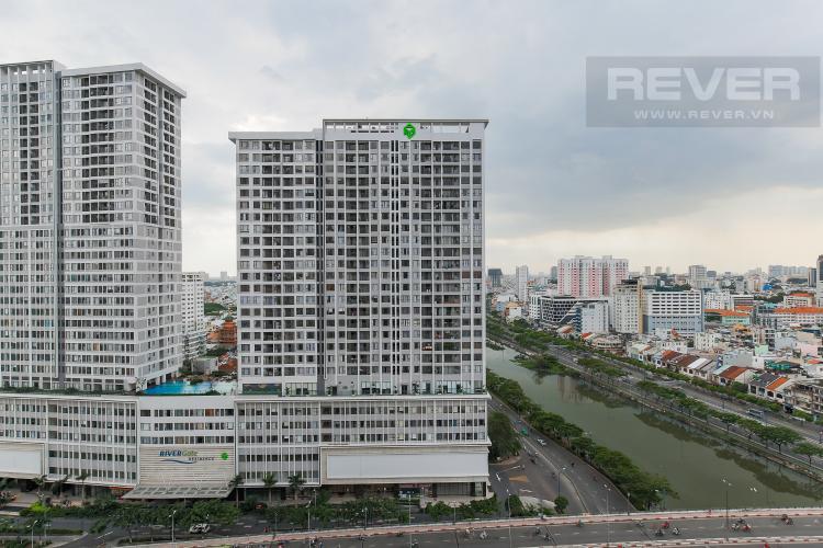 View Căn hộ Masteri Millennium tầng cao block B, 2PN, nội thất đầy đủ, view kênh