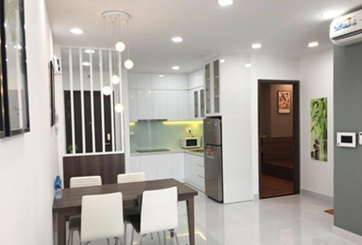 Căn hộ Kingston Residence, Phú Nhuận Căn hộ Officetel Kingston Residence đầy đủ nội thất.
