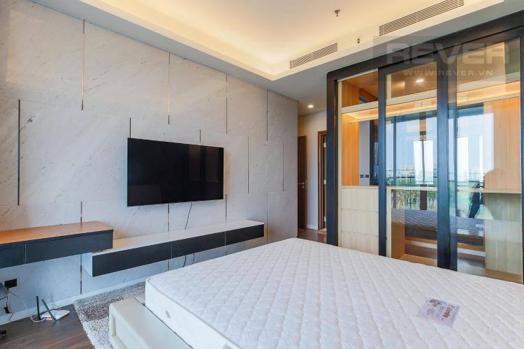 Phòng Ngủ 1 Cho thuê căn hộ Sarica Sala Đại Quang Minh 3PN, đầy đủ nội thất, view công viên mát mẻ