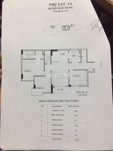 Bản vẽ New City Thủ Thiêm, Quận 2 Căn hộ New City Thủ Thiêm đầy đủ nội thất, 2 phòng ngủ.