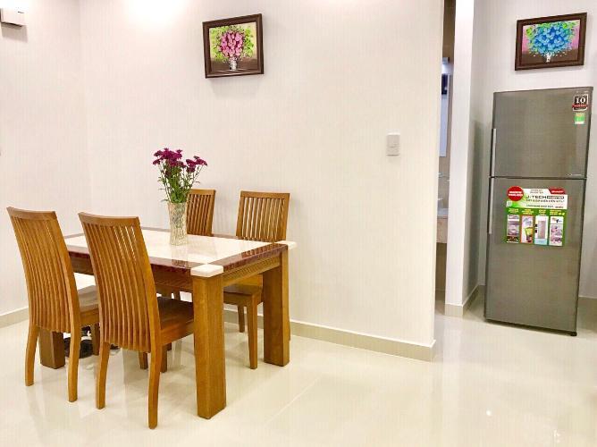 Phòng ăn căn hộ FLORITA Q7 Bán căn hộ Florita 2 phòng ngủ, tầng 16, diện tích 58m2, đầy đủ nội thất