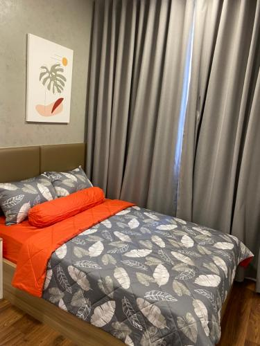 Phòng ngủ One Verandah Quận 2 Căn hộ One Verandah tầng trung, view sông, đầy đủ nội thất.
