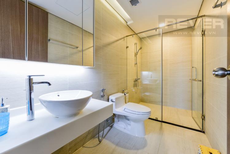 Phòng tắm 3 Căn hộ Vinhomes Central Park 3PN đầy đủ nội thất, có thể dọn vào ở ngay