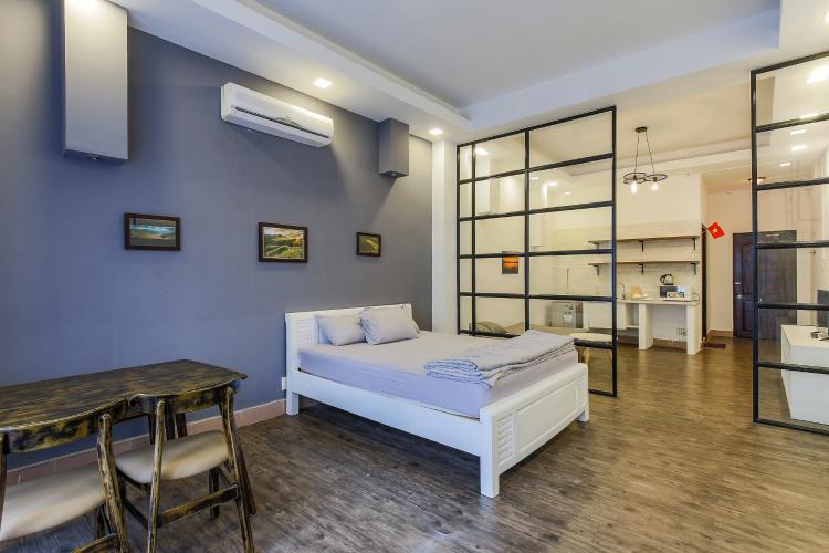 Căn hộ dịch vụ Đường Mai Thị Lựu 1 phòng ngủ nội thất đầy đủ