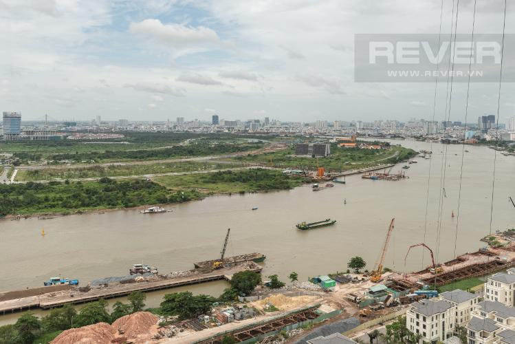 View Officetel Vinhomes Golden River 1 phòng ngủ tầng cao A1 view sông