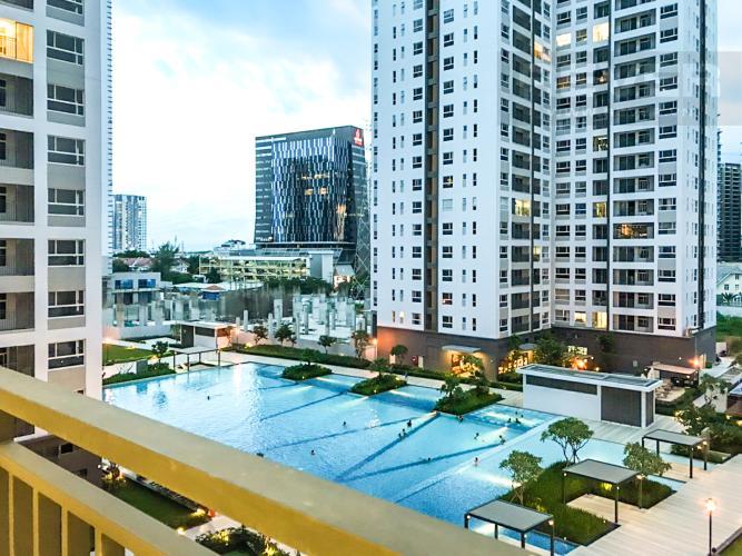 View Cho thuê căn hộ Sunrise Riverside 3PN, diện tích 83m2, đầy đủ nội thất, view hồ bơi nội khu