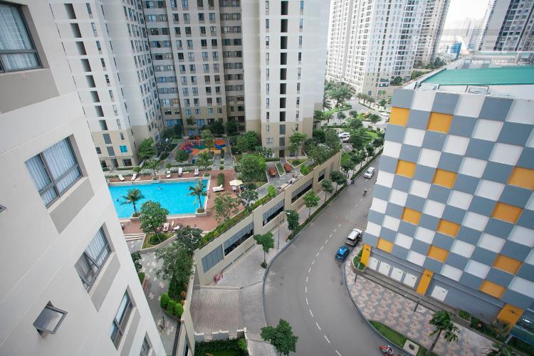 View Căn hộ Masteri Thảo Điền 2 phòng ngủ tầng trung T1 hướng Đông Nam