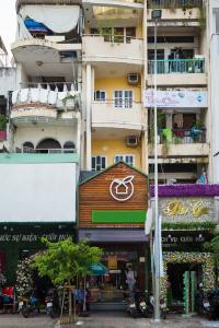 Nhà phố đường Nguyễn Đình Chiểu Quận 3 tiện kinh doanh