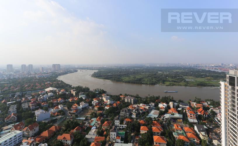 View Cho thuê căn hộ Masteri Thảo Điền tầng cao, 3PN, view sông