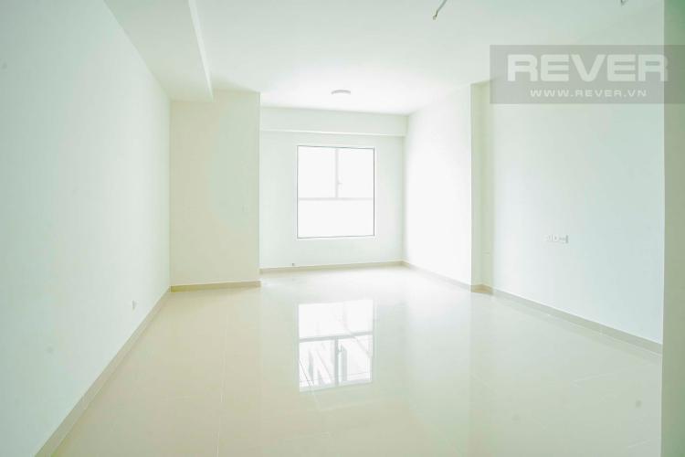 Phòng Khách Cho thuê căn hộ Sunrise CityView 1PN, tầng trung, không có nội thất, view đường Nguyễn Hữu Thọ