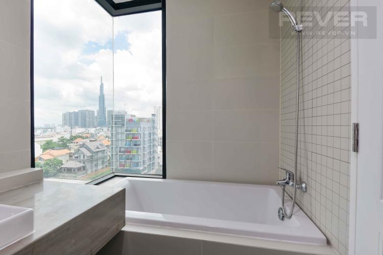 Toilet 2 căn hộ THE ASCENT Căn hộ The Ascent tầng thấp đầy đủ nội thất, view Landmark 81