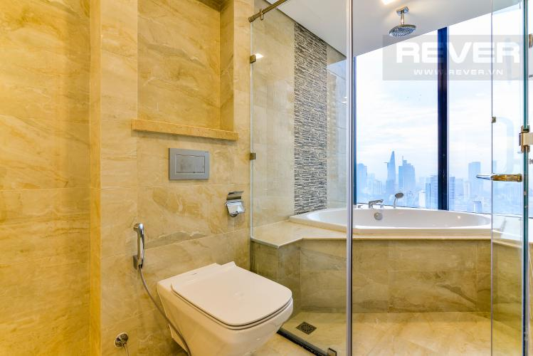 Phòng Tắm 3 Căn hộ Vinhomes Golden River 4 phòng ngủ tầng cao A3 hướng Tây Bắc