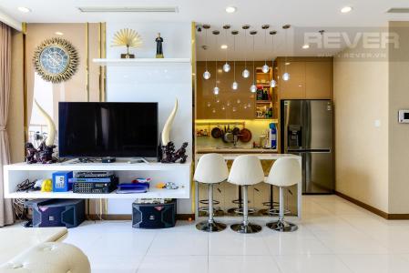 Bán căn hộ 3PN Vinhomes Central Park, nội thất cao cấp, view toàn cảnh thành phố
