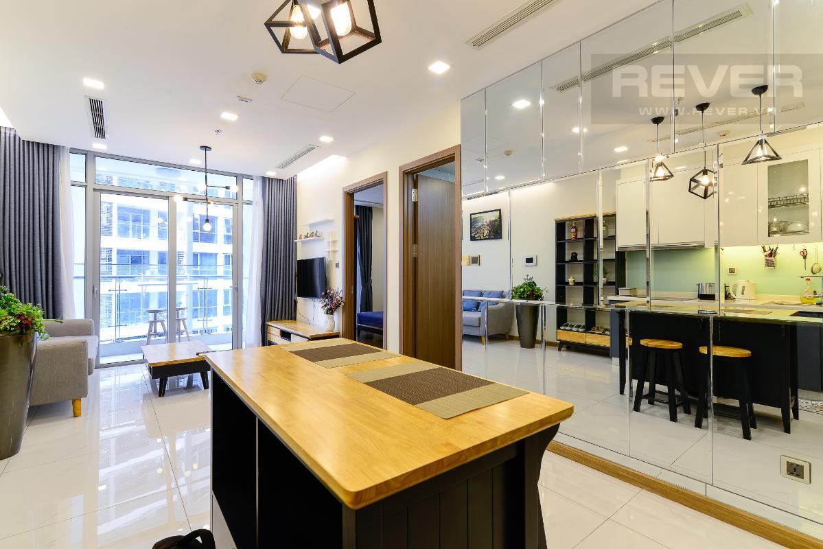 can-ho-vinhomes-central-park Cho thuê căn hộ Vinhomes Central Park 1PN, tháp Park 7, đầy đủ nội thất, view nội khu