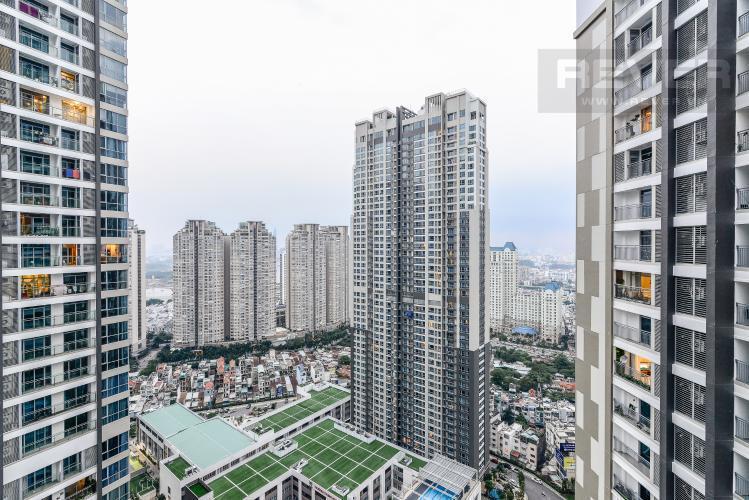 View Cho thuê căn hộ Vinhomes Central Park tầng cao, 2PN đầy đủ nội thất, tiện nghi, view nội khu