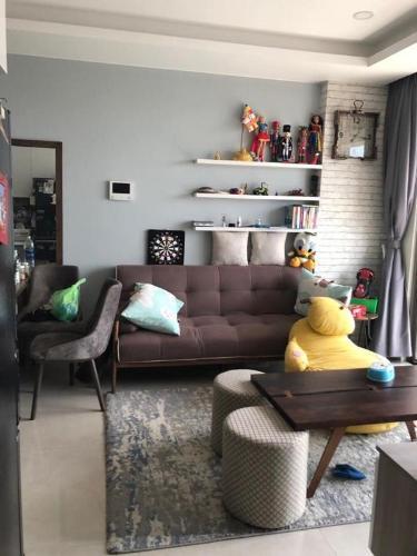 Bán căn hộ Masteri Millennium 2PN, tầng cao, đầy đủ nội thất, view kênh Bến Nghé