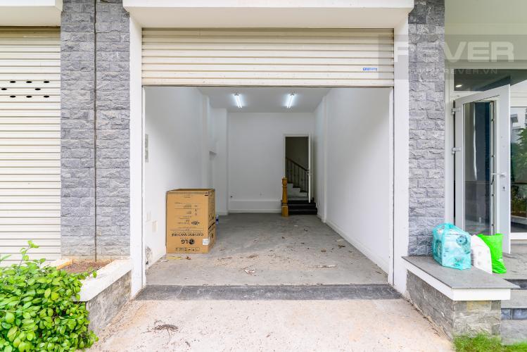 Sân Đậu OTO Biệt thự H28 Villa Park Quận 9 3PN, đầy đủ nội thất