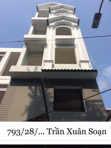 Bán nhà hẻm xe hơi đường Trần Xuân Soạn, Quận 7, diện tích đất 50m2, sổ hồng, cách mặt tiền đường 300m