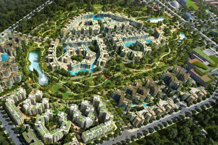 Celadon City, Tân Phú Căn hộ Celadon City tầng trung hướng Đông Nam, đầy đủ nội thất.