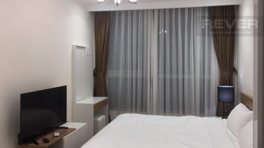 Phòng Ngủ Bán căn hộ Vinhomes Central Park tầng thấp, tháp Landmark 5, đầy đủ nội thất, view hồ bơi và mé sông