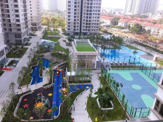 Saigon South Residence Căn hộ Saigon South Residence tầng trung, ban công hướng Nam.