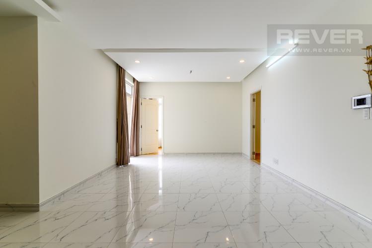Phòng Khách Bán căn hộ penthouse The Art 2PN, diện tích 100m2, có sân vườn, view hồ bơi